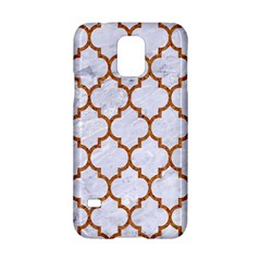 TILE1 WHITE MARBLE & RUSTED METAL (R) Samsung Galaxy S5 Hardshell Case