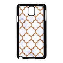 TILE1 WHITE MARBLE & RUSTED METAL (R) Samsung Galaxy Note 3 Neo Hardshell Case (Black)