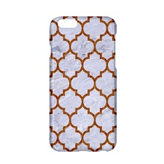 TILE1 WHITE MARBLE & RUSTED METAL (R) Apple iPhone 6/6S Hardshell Case
