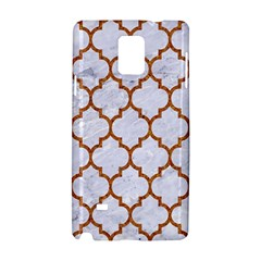 Tile1 White Marble & Rusted Metal (r) Samsung Galaxy Note 4 Hardshell Case by trendistuff