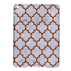 TILE1 WHITE MARBLE & RUSTED METAL (R) iPad Air 2 Hardshell Cases