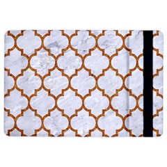 TILE1 WHITE MARBLE & RUSTED METAL (R) iPad Air 2 Flip