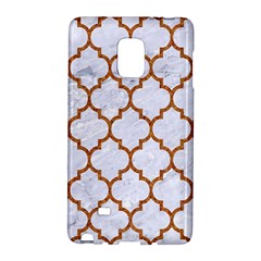 TILE1 WHITE MARBLE & RUSTED METAL (R) Galaxy Note Edge