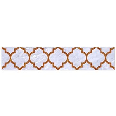 Tile1 White Marble & Rusted Metal (r) Small Flano Scarf by trendistuff