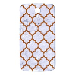 TILE1 WHITE MARBLE & RUSTED METAL (R) Samsung Galaxy Mega I9200 Hardshell Back Case