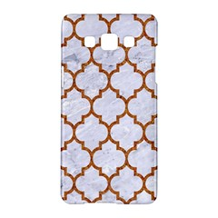 TILE1 WHITE MARBLE & RUSTED METAL (R) Samsung Galaxy A5 Hardshell Case