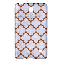 TILE1 WHITE MARBLE & RUSTED METAL (R) Samsung Galaxy Tab 4 (8 ) Hardshell Case