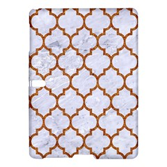 Tile1 White Marble & Rusted Metal (r) Samsung Galaxy Tab S (10 5 ) Hardshell Case  by trendistuff
