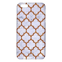 TILE1 WHITE MARBLE & RUSTED METAL (R) iPhone 6 Plus/6S Plus TPU Case