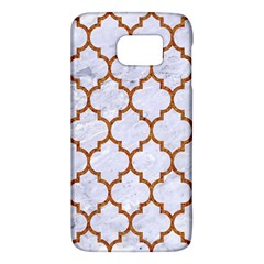 TILE1 WHITE MARBLE & RUSTED METAL (R) Galaxy S6