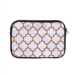 TILE1 WHITE MARBLE & RUSTED METAL (R) Apple MacBook Pro 15  Zipper Case