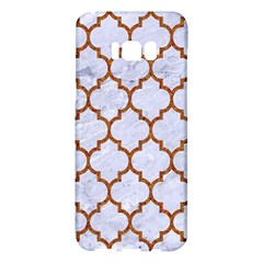 TILE1 WHITE MARBLE & RUSTED METAL (R) Samsung Galaxy S8 Plus Hardshell Case