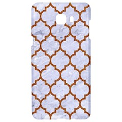 TILE1 WHITE MARBLE & RUSTED METAL (R) Samsung C9 Pro Hardshell Case