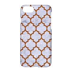 TILE1 WHITE MARBLE & RUSTED METAL (R) Apple iPhone 8 Hardshell Case
