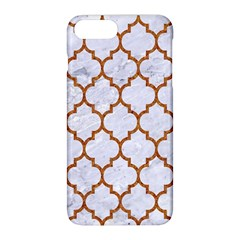 TILE1 WHITE MARBLE & RUSTED METAL (R) Apple iPhone 8 Plus Hardshell Case