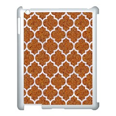 Tile1 White Marble & Rusted Metal Apple Ipad 3/4 Case (white) by trendistuff
