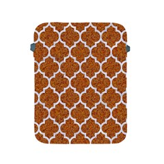 Tile1 White Marble & Rusted Metal Apple Ipad 2/3/4 Protective Soft Cases by trendistuff