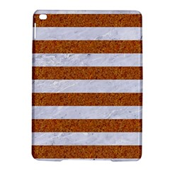 Stripes2white Marble & Rusted Metal Ipad Air 2 Hardshell Cases by trendistuff