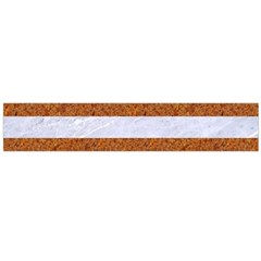 Stripes2white Marble & Rusted Metal Large Flano Scarf  by trendistuff