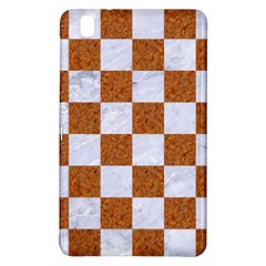 Square1 White Marble & Rusted Metal Samsung Galaxy Tab Pro 8 4 Hardshell Case by trendistuff