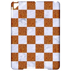 Square1 White Marble & Rusted Metal Apple Ipad Pro 9 7   Hardshell Case by trendistuff