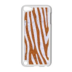 Skin4 White Marble & Rusted Metal (r) Apple Ipod Touch 5 Case (white) by trendistuff