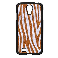 Skin4 White Marble & Rusted Metal (r) Samsung Galaxy S4 I9500/ I9505 Case (black) by trendistuff