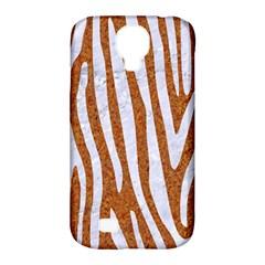 Skin4 White Marble & Rusted Metal (r) Samsung Galaxy S4 Classic Hardshell Case (pc+silicone) by trendistuff
