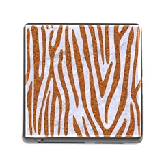 Skin4 White Marble & Rusted Metal Memory Card Reader (square) by trendistuff