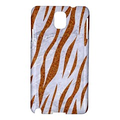 Skin3 White Marble & Rusted Metal (r) Samsung Galaxy Note 3 N9005 Hardshell Case by trendistuff
