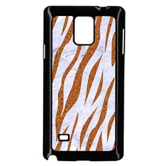 Skin3 White Marble & Rusted Metal (r) Samsung Galaxy Note 4 Case (black) by trendistuff