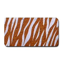 Skin3 White Marble & Rusted Metal Medium Bar Mats by trendistuff