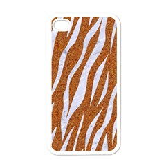 Skin3 White Marble & Rusted Metal Apple Iphone 4 Case (white) by trendistuff