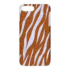 Skin3 White Marble & Rusted Metal Apple Iphone 7 Plus Hardshell Case by trendistuff