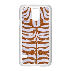 Skin2 White Marble & Rusted Metal (r) Samsung Galaxy S5 Case (white) by trendistuff