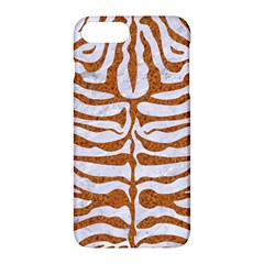 Skin2 White Marble & Rusted Metal (r) Apple Iphone 7 Plus Hardshell Case by trendistuff