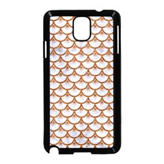 Scales3 White Marble & Rusted Metal (r) Samsung Galaxy Note 3 Neo Hardshell Case (black) by trendistuff