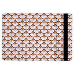 Scales3 White Marble & Rusted Metal (r) Ipad Air 2 Flip by trendistuff