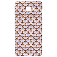 Scales3 White Marble & Rusted Metal (r) Samsung C9 Pro Hardshell Case  by trendistuff