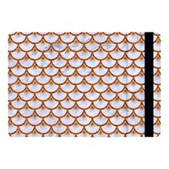 Scales3 White Marble & Rusted Metal (r) Apple Ipad Pro 10 5   Flip Case by trendistuff