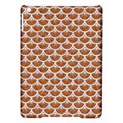Scales3 White Marble & Rusted Metal Ipad Air Hardshell Cases by trendistuff