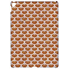 Scales3 White Marble & Rusted Metal Apple Ipad Pro 12 9   Hardshell Case by trendistuff