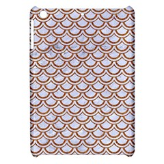 Scales2 White Marble & Rusted Metal (r) Apple Ipad Mini Hardshell Case by trendistuff