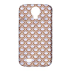 Scales2 White Marble & Rusted Metal (r) Samsung Galaxy S4 Classic Hardshell Case (pc+silicone) by trendistuff