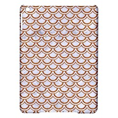 Scales2 White Marble & Rusted Metal (r) Ipad Air Hardshell Cases by trendistuff