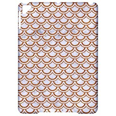 Scales2 White Marble & Rusted Metal (r) Apple Ipad Pro 9 7   Hardshell Case by trendistuff