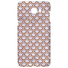 Scales2 White Marble & Rusted Metal (r) Samsung C9 Pro Hardshell Case  by trendistuff