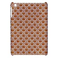 Scales2 White Marble & Rusted Metal Apple Ipad Mini Hardshell Case by trendistuff