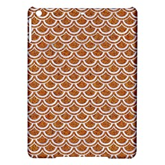 Scales2 White Marble & Rusted Metal Ipad Air Hardshell Cases by trendistuff