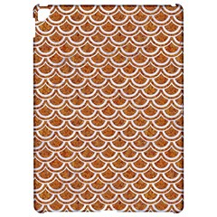 Scales2 White Marble & Rusted Metal Apple Ipad Pro 12 9   Hardshell Case by trendistuff